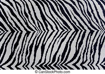 decorative plaster,  zebra