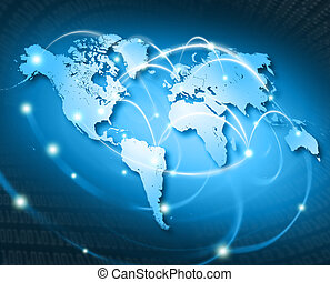 connected world USA