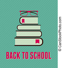 Back to School Poster - Minimalist style 'Back to School'...