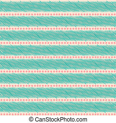 Seamless Ethnic Pattern - Seamless ethnic pattern in pastel...