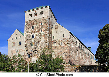 Historic Castle of Turku, Finland - Medieval Castle of...