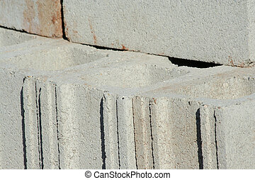 Cinder block - A cinder block background