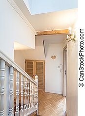 Vintage mansion - stairs Bannister - Vintage mansion - a...