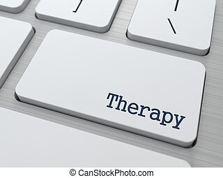Therapy Medical Concept - Therapy - Medical Concept Button...