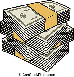 Big stack of money