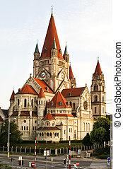 Church Heiliger Franz of Assisi at Mexikoplatz