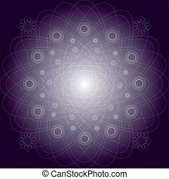 Mandala vector pattern illustration - Vector illustration...