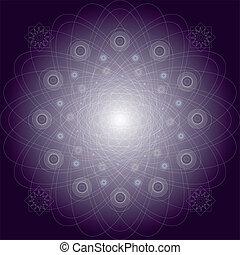 Mandala vector pattern illustration - Vector illustration...
