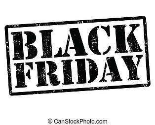 Black friday stamp - Black friday grunge rubber stamps on...