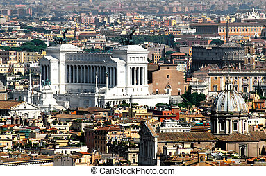 italian national monument to Vittorio Emanuele II, better...