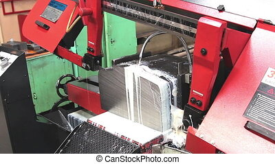metal cutting - section for the production of metal