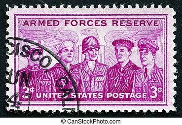 Postage stamp USA 1970 Armed Forces Reserve - UNITED STATES...