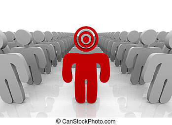 Targeting Your Customer - One customer in a group is...