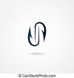 gancho, ícone