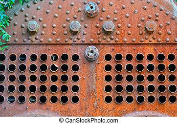 Steam boiler detail