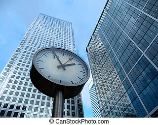 Time And Business - Concept image representing time and...
