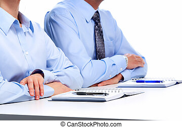 Business people in the office. Finance and accounting...