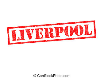 LIVERPOOL red rubber stamp over a white background.