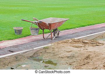 littel sand - Littel truk sand construction