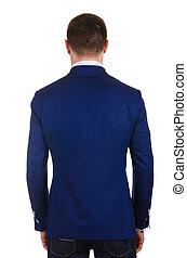 Jacket isolated on the white background