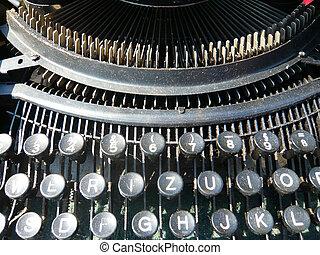 Vintage writing machine