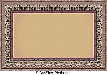 Frame - Patterned hollow frame