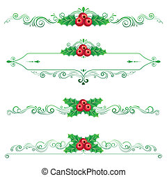 Christmas ornament,Vectors illustrations