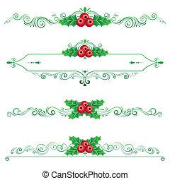 Christmas ornament,Vectors illustrations