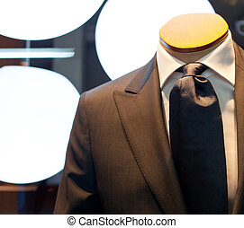 Male mannequin with clothes - Photo of a Male mannequin with...
