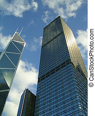 Architecture Cheung Kong Centre & Bank of China Tower
