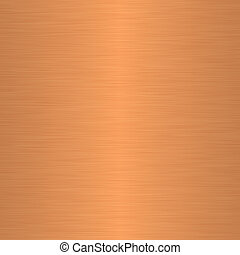 Brushed copper as background