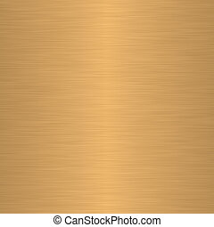 Brushed gold or brass as background