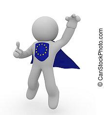 Super European hero