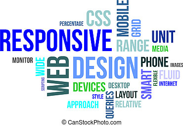 word cloud - responsive web design
