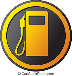 petrol station icon gas station symbol