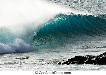 ocean wave - beautiful ocean wave