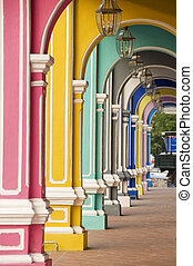 Painted Arches 3, Penang, Malaysia - Painted Arches 3,...