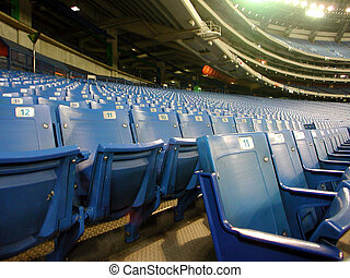 Stadium seats - Seats of skydome sport centre