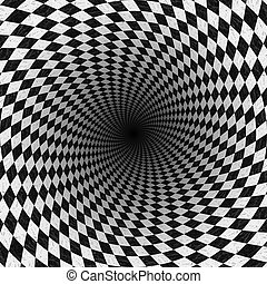 Abstract chess background - Abstract black and white chess...
