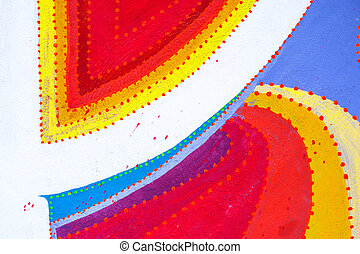 art color lines - paint abstract extra color background