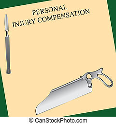 Surgical error - Personal injury compensation related to...