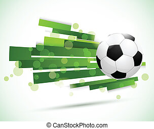 Soccer background. Abstract bright illustration