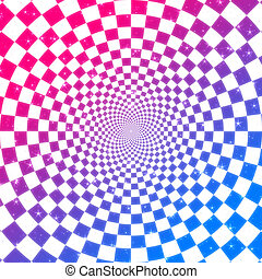 Colorful checkered texture - Abstract colorful checkered...