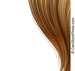 Hair style and haircare design template