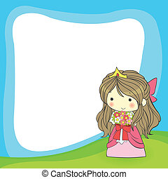 cute cartoon frame