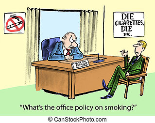 No Smoking - Whats the office policy on smoking