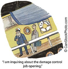 "Damage Control - ""I am inquiring about the damage control..."