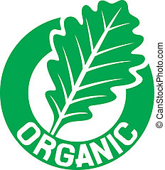 organic sign (organic seal, organic symbol, oak leaf)