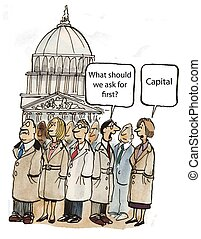 Lobby capital - What should we ask for Capital