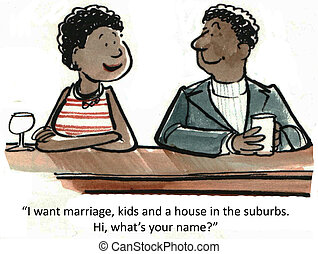 Marriage and kids - I want marriage, kids and a house in the...